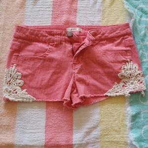Love fire shorts